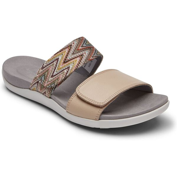 TWZIII 2 Band Adjustable Sandal, Pink Beige, hi-res