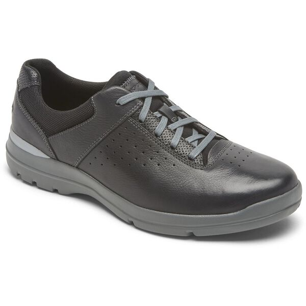 City Edge Ubal Plain Toe, Black Lager Lthr, hi-res