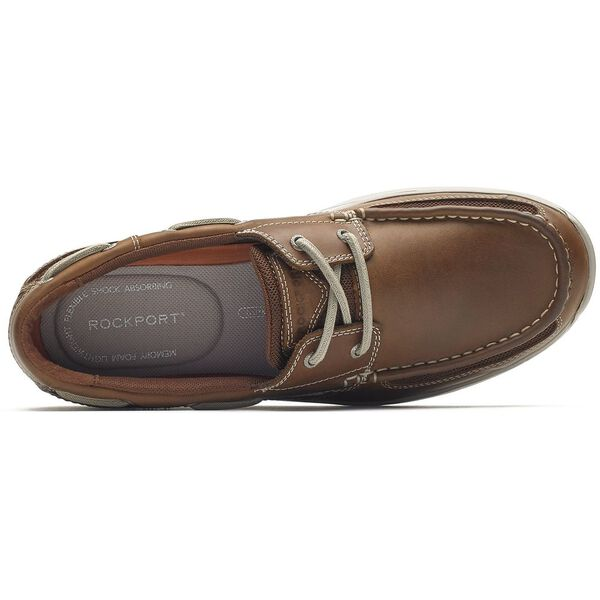 Langdon 2Eye Moc Ox, Tan Lthr, hi-res
