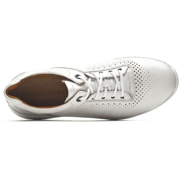 Lets Walk Ubal Lace Up, Pearl White, hi-res