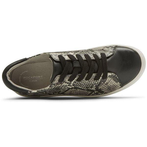 Truflex Parissa Sneaker, Black/Snake, hi-res