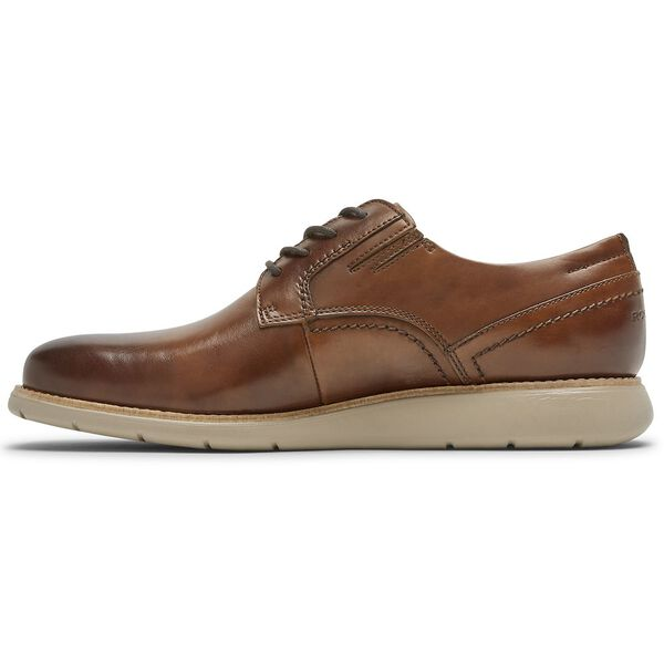 Total Motion Sport Dress 4-Eye Plain Toe, Cognac Grad, hi-res
