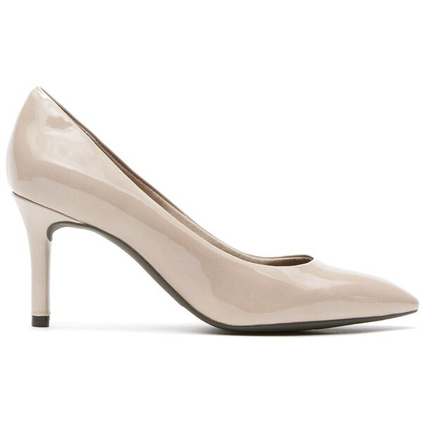 Total Motion 75MM PT Pump, Warm Taupe Patent, hi-res