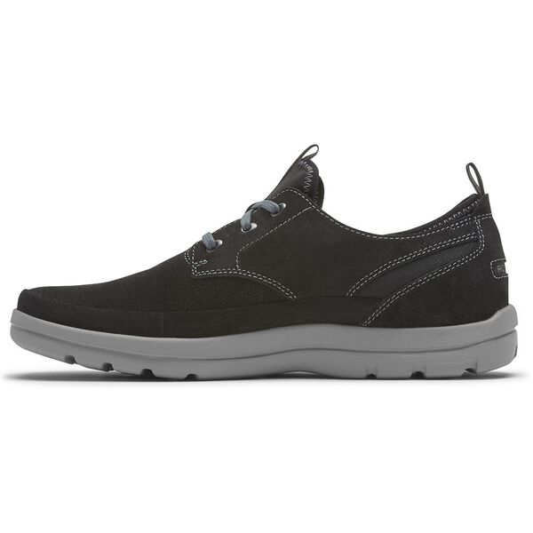 GYK II 3 Eye Plain Toe, Black Sde, hi-res