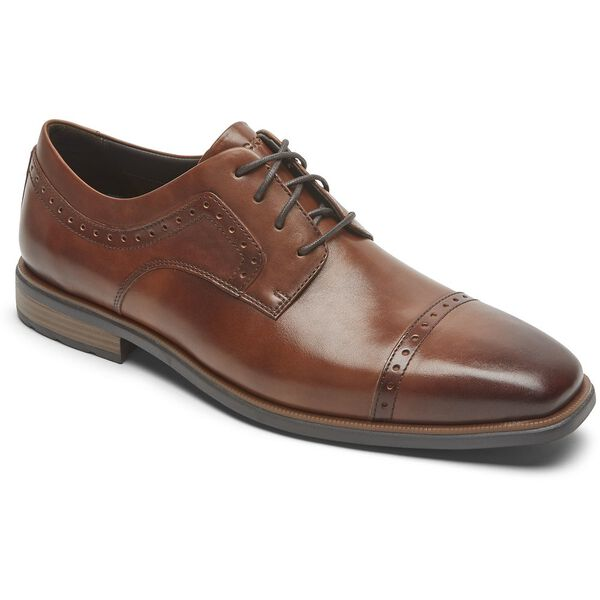 Dressports Business 2 Cap Toe, Cognac Antq, hi-res
