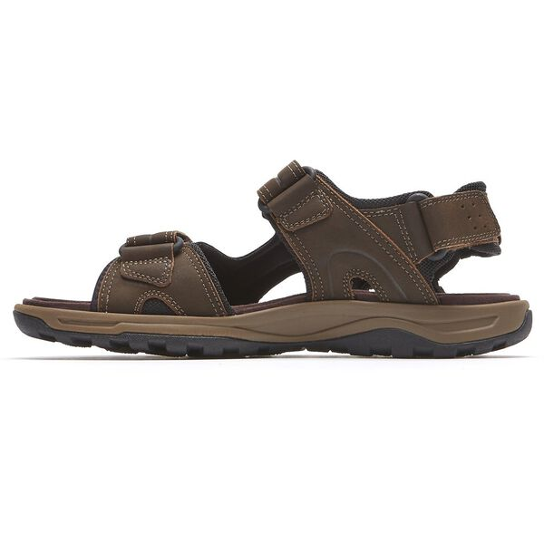 Trail Technique Velcro Sandal, Brown, hi-res