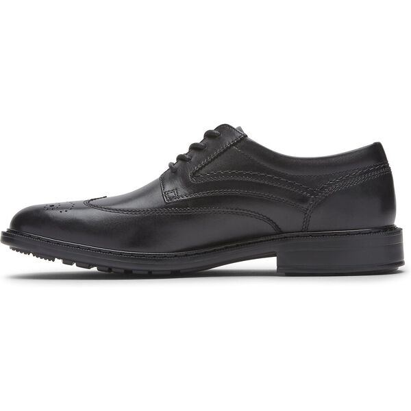 Tanner Wingtip, Black, hi-res
