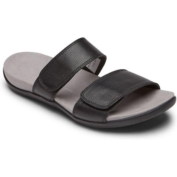 TWZIII 2 Band Adjustable Sandal, Black, hi-res