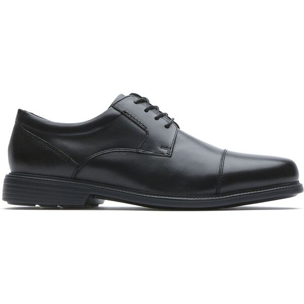 Charles Road Cap Toe, Black, hi-res