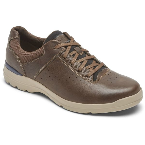 City Edge Ubal Plain Toe, Bison Lthr, hi-res