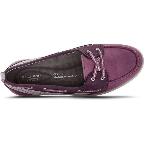 Ayva Washable Boat Shoe, Pink/Berry, hi-res