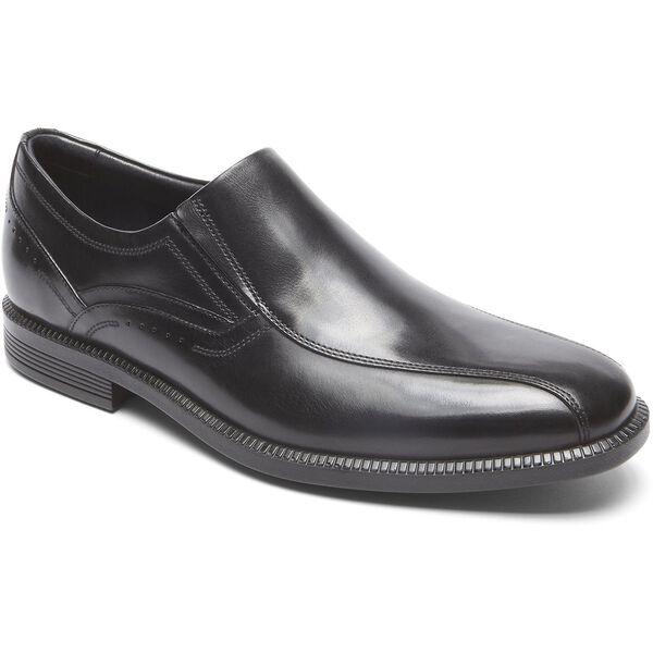Dressports Modern Wingtip Slip On, Black, hi-res