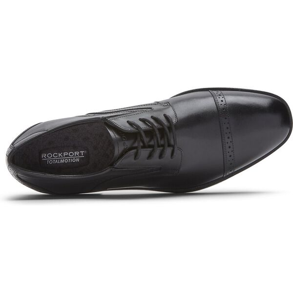 Total Motion Office Cap Toe, Black, hi-res