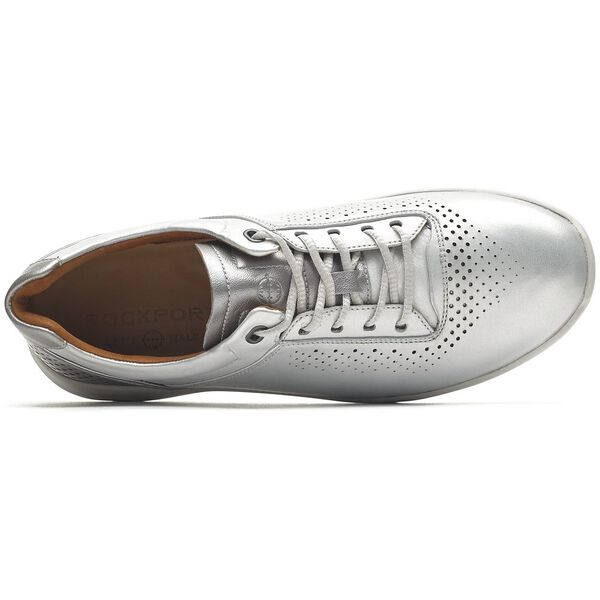 Lets Walk Ubal Lace Up, Silver, hi-res