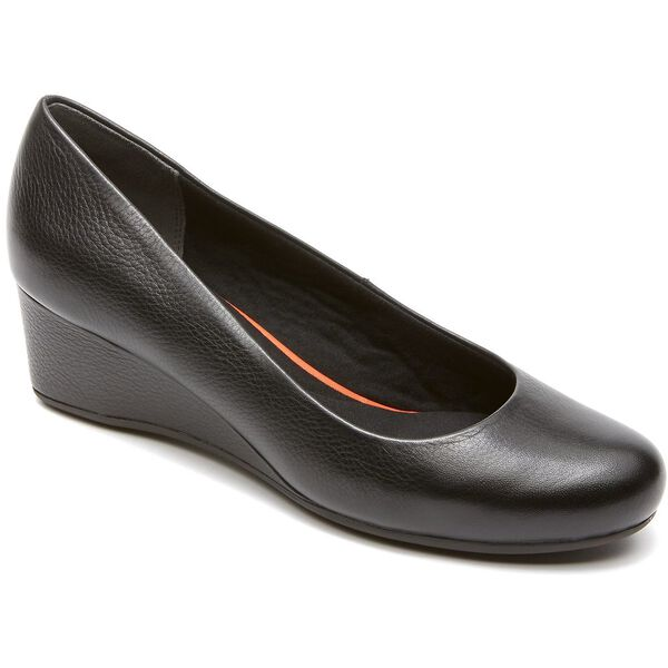 Total Motion Plain Wedge, Black, hi-res