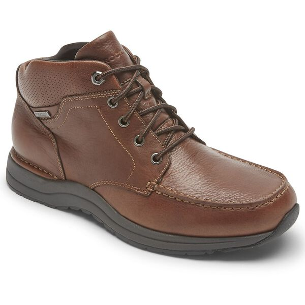 Edge Hill II Moc Boot Wp, Brown Lthr, hi-res