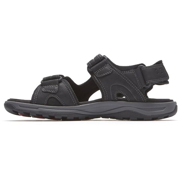 Trail Technique Velcro Sandal, Black, hi-res