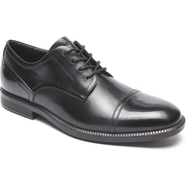 Dressports Modern Cap Toe, Black, hi-res