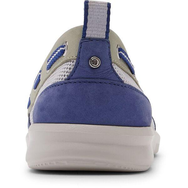 Ayva Washable Boat Shoe, Blue/Mint, hi-res
