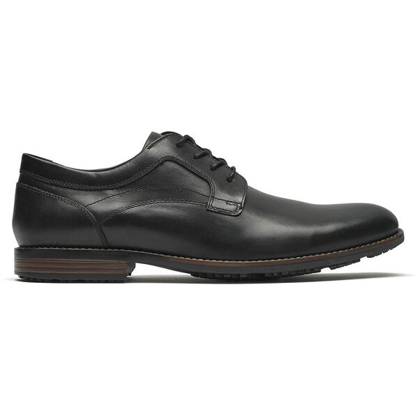 Dustyn Plain Toe, Black, hi-res